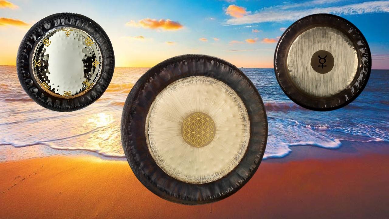Cartel de Baños de Gongs