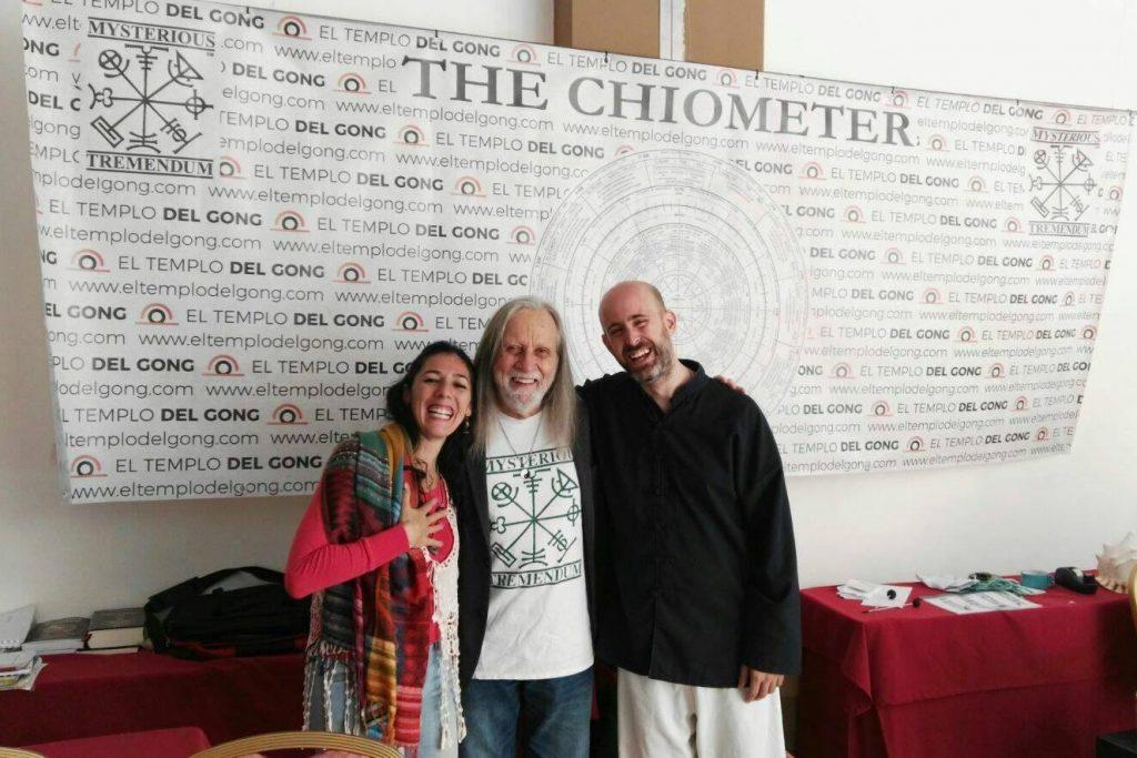 Jhebara Das y Thaybhari con el Gran Maestro Don Conreaux
