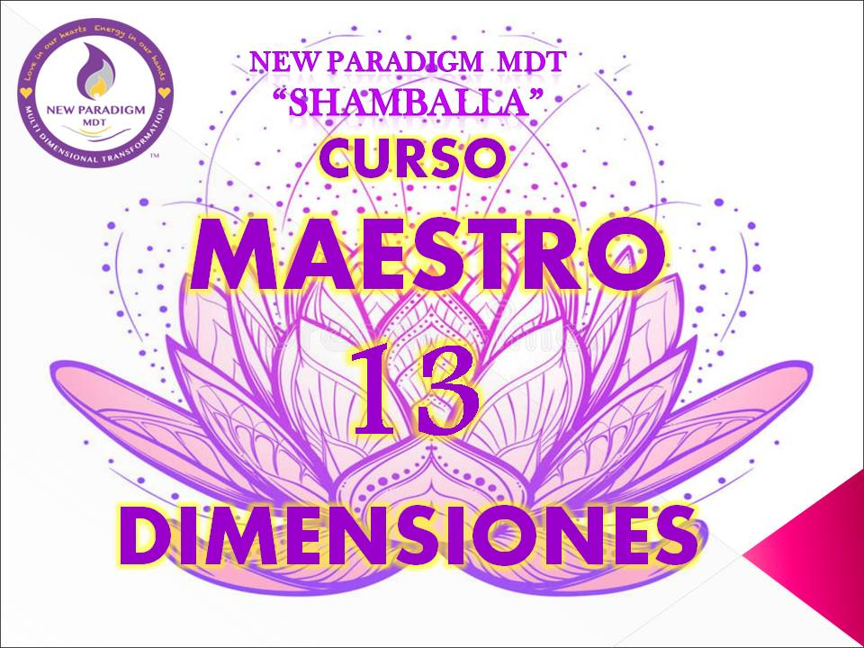 curso maestro 13D -New Paradigm MDT-
