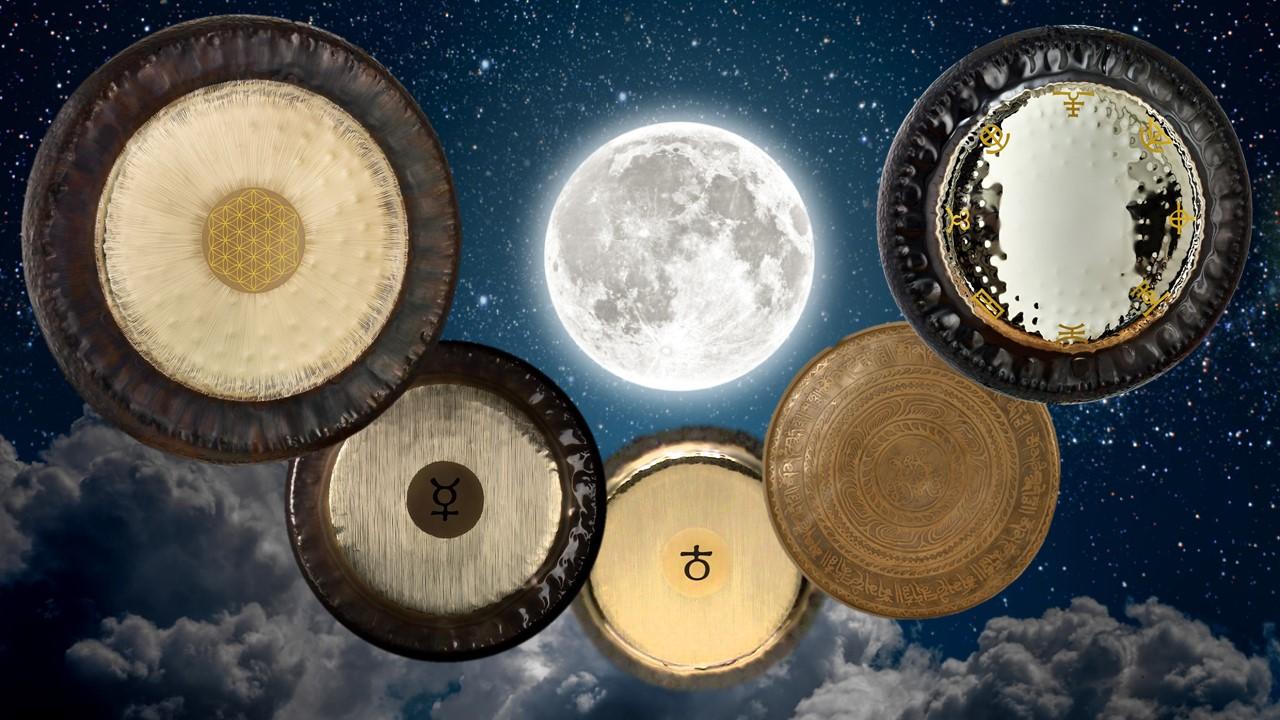 Puja de Gongs Sonidos de Aquario