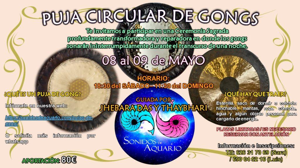 Puja de gongs en Sevilla