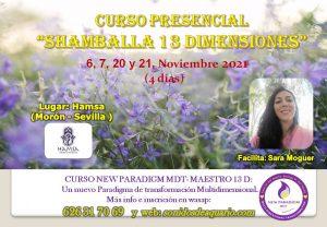 """CURSO """"SHAMBALLA 13 DIMENSIONES"""" MDT @ HAMSA- Morón de la Frontera (Sevilla)"""